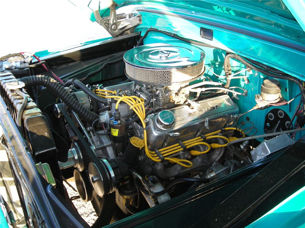 1965 FORD F-100 CUSTOM PICKUP - Engine - 117173