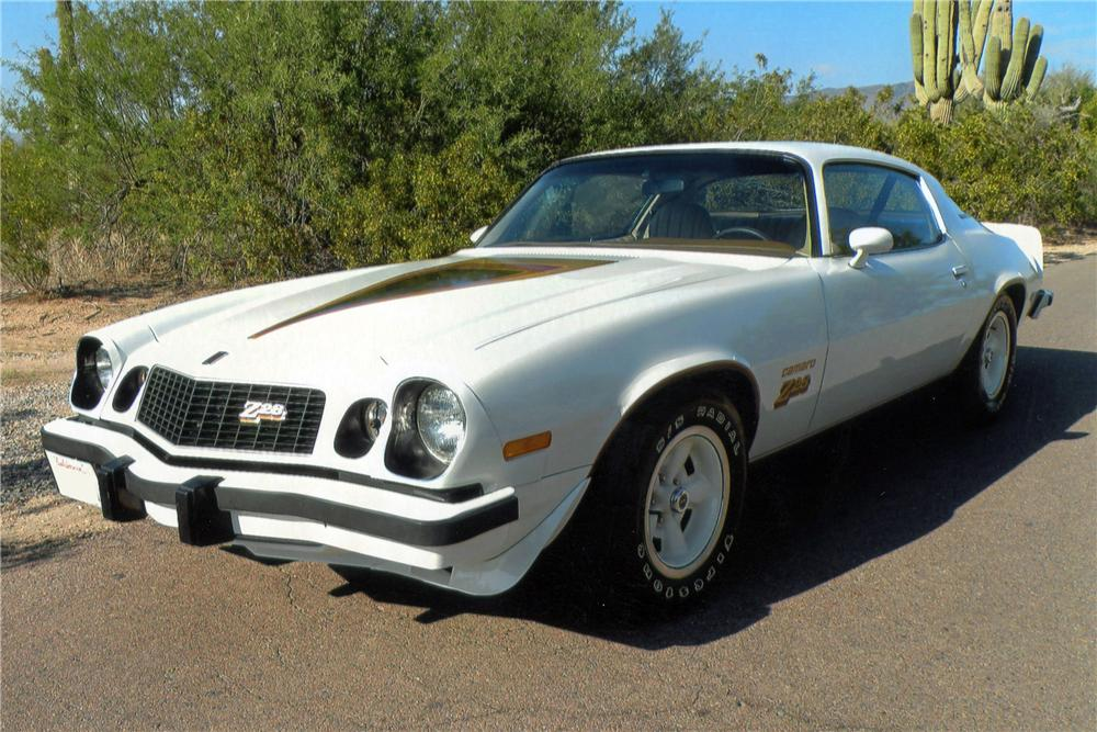 1977 Chevrolet Camaro Z 28 2 Door Coupe 117177
