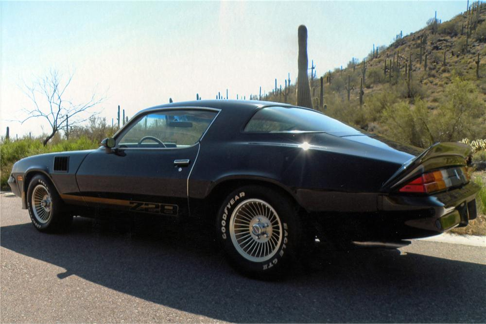 1979 CHEVROLET CAMARO Z/28 2 DOOR COUPE - Side Profile - 117181