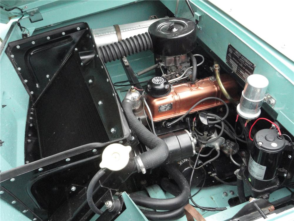 1965 AMPHICAR 770 CONVERTIBLE - Engine - 117185