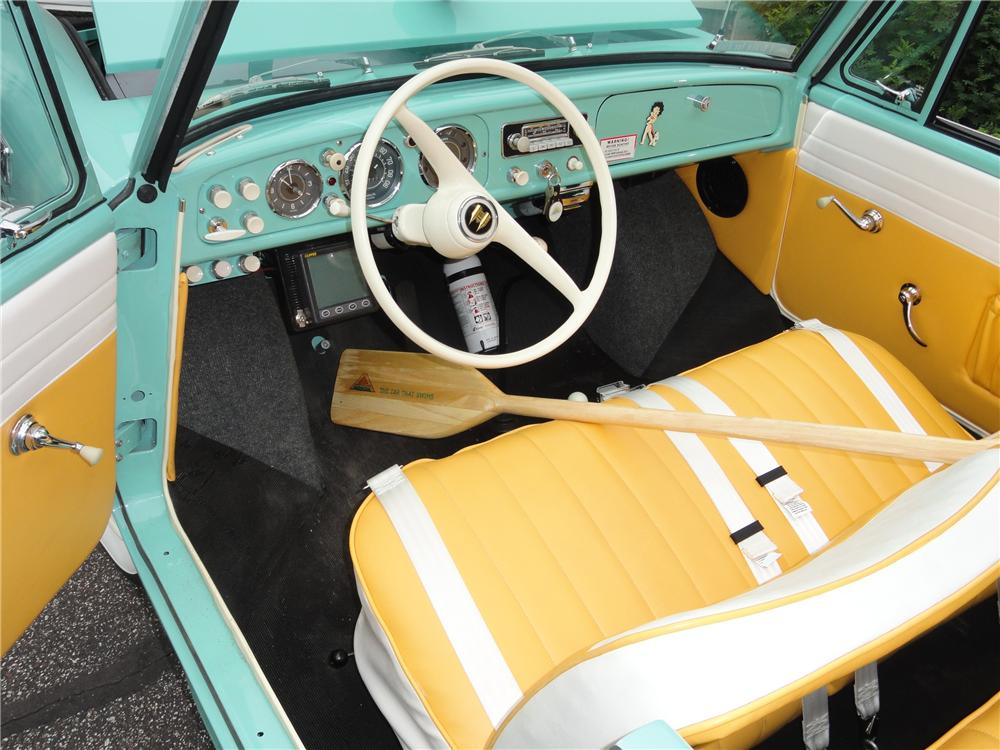 1965 AMPHICAR 770 CONVERTIBLE - Interior - 117185