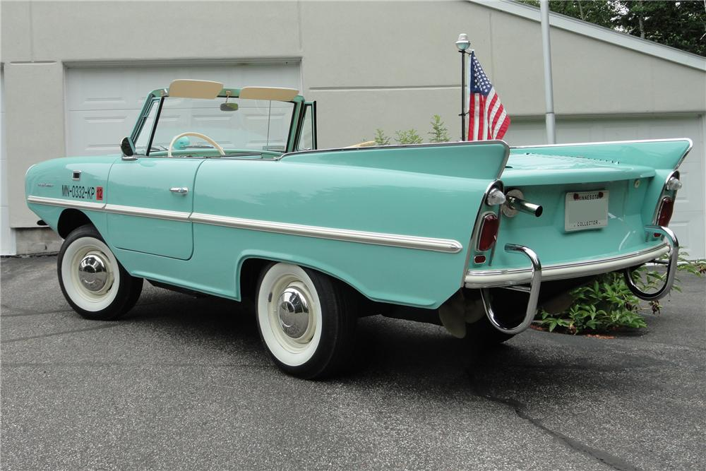 1965 AMPHICAR 770 CONVERTIBLE - Rear 3/4 - 117185