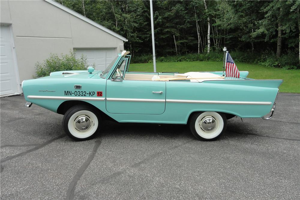 1965 AMPHICAR 770 CONVERTIBLE - Side Profile - 117185