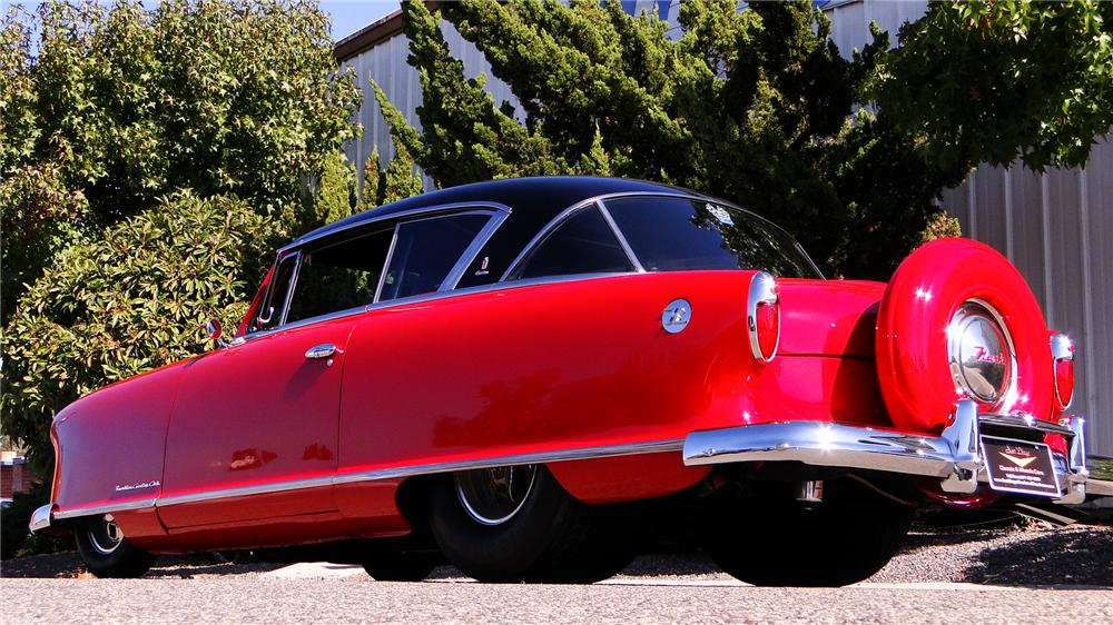1954 NASH CUSTOM 2 DOOR COUPE - Front 3/4 - 117186
