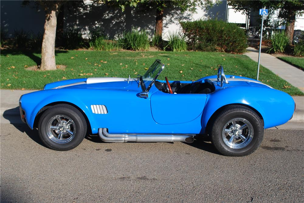 1965 SHELBY COBRA RE-CREATION ROADSTER - Side Profile - 117200