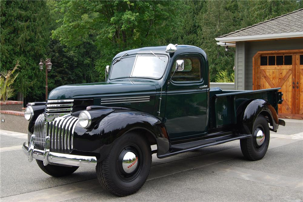 1946 CHEVROLET PICKUP - Side Profile - 117212