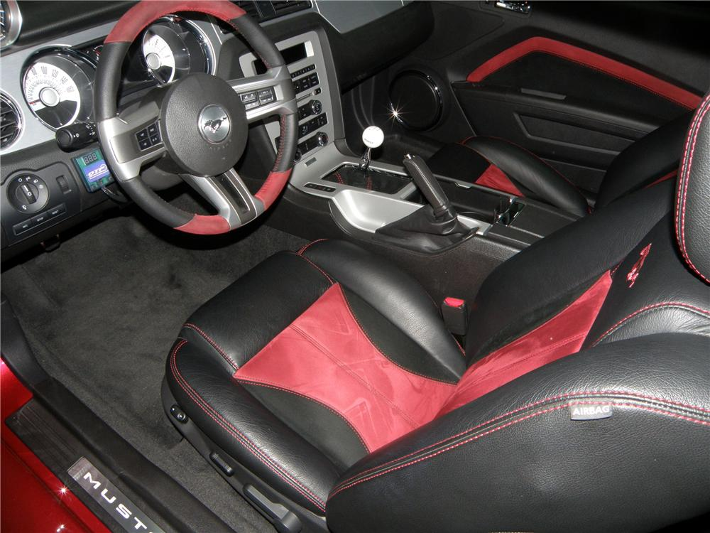 Attractive ... 2012 FORD MUSTANG GT CUSTOM COUPE   Interior   117224 ...