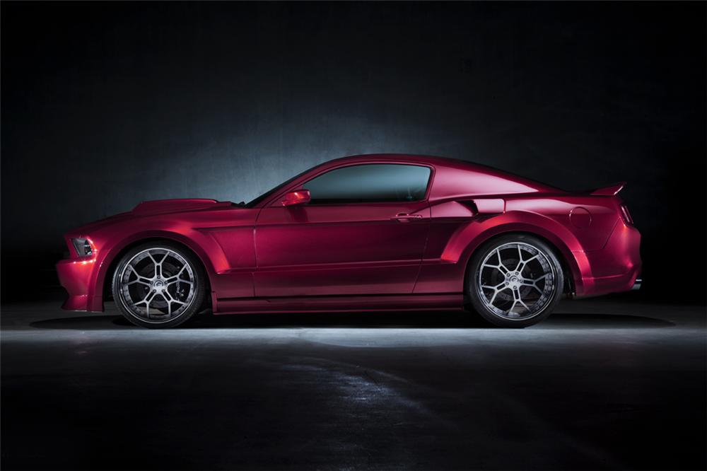 2012 FORD MUSTANG GT CUSTOM COUPE - Side Profile - 117224