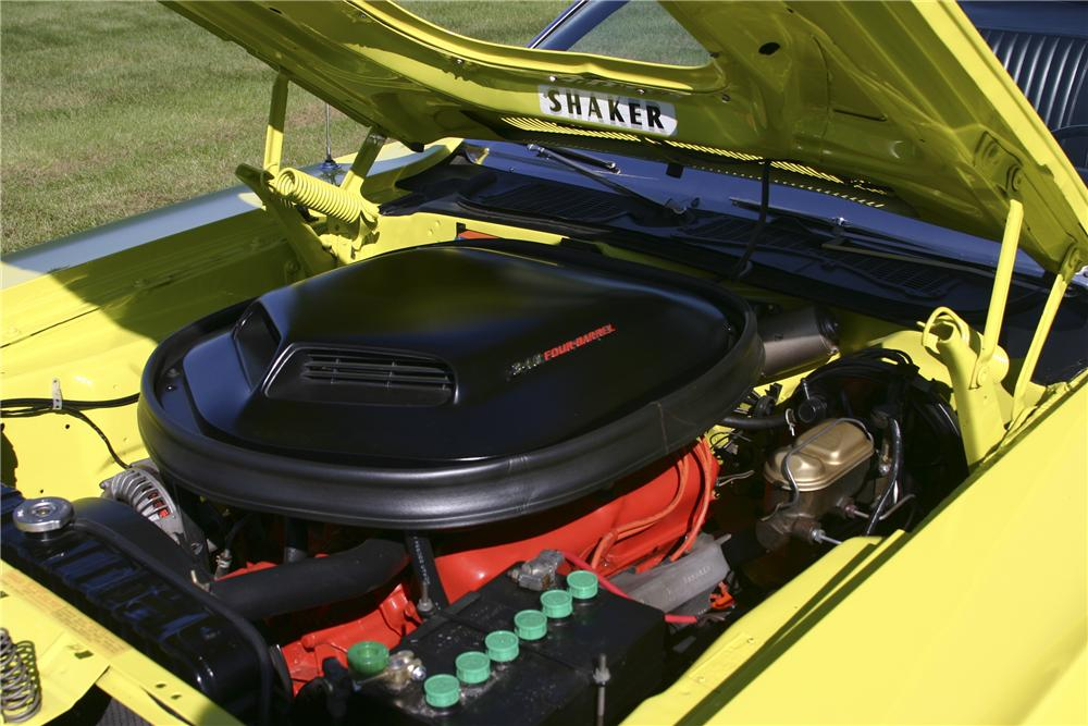 1971 DODGE CHALLENGER CONVERTIBLE - Engine - 117226