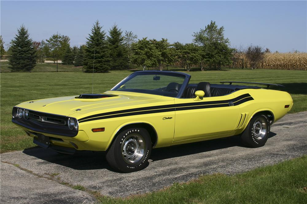 1971 dodge challenger convertible 117226. Black Bedroom Furniture Sets. Home Design Ideas