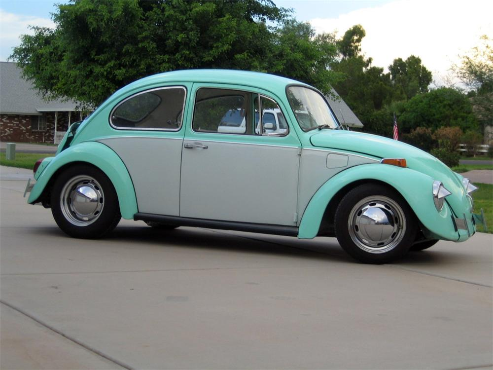 1970 VOLKSWAGEN BEETLE 2 DOOR COUPE - Side Profile - 117234