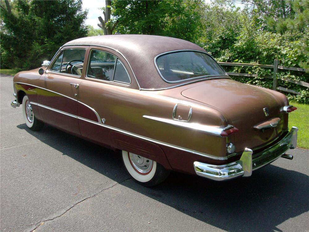 1951 ford crestline 2 door sedan 117236 for 1951 ford 4 door sedan