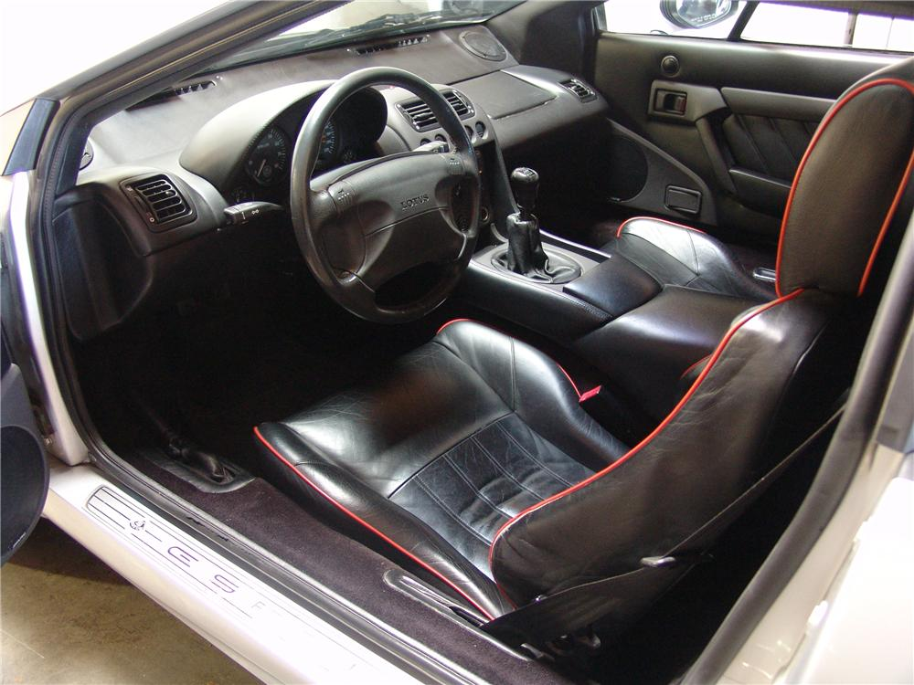 1998 LOTUS ESPRIT 2 DOOR COUPE - Interior - 117243