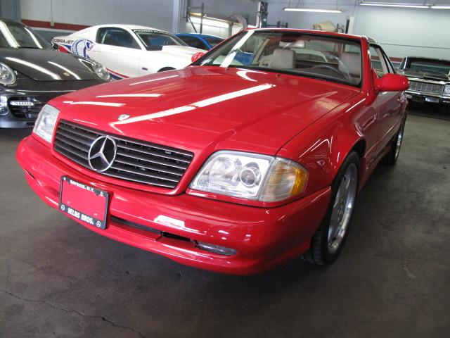 1999 MERCEDES-BENZ 500SL CONVERTIBLE - Front 3/4 - 117246