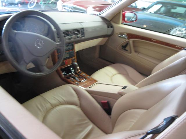 1999 MERCEDES-BENZ 500SL CONVERTIBLE - Interior - 117246