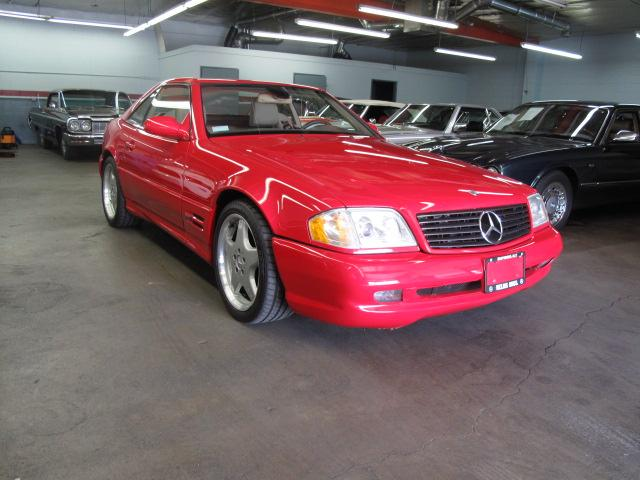 1999 MERCEDES-BENZ 500SL CONVERTIBLE - Side Profile - 117246