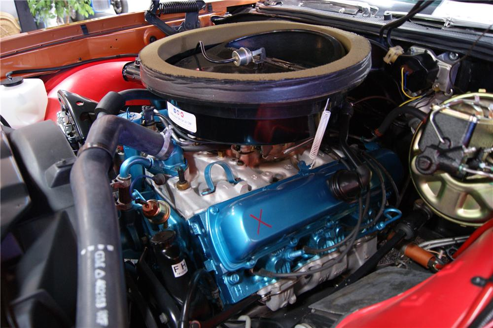 1971 OLDSMOBILE 442 W30 COUPE - Engine - 117247