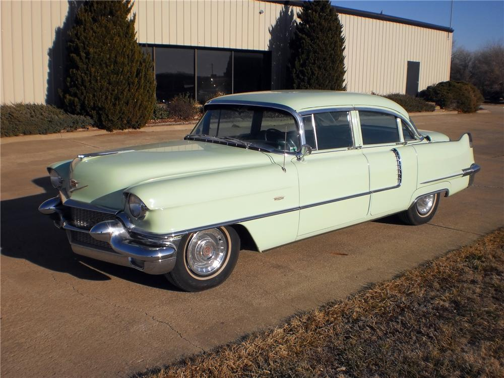 1956 Cadillac 4 Door Sedan Of 1956 Cadillac De Ville 4 Door Sedan 117249