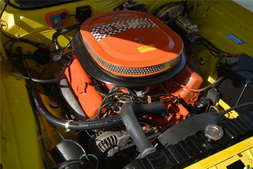 1971 PLYMOUTH GTX 2 DOOR COUPE - Engine - 117254