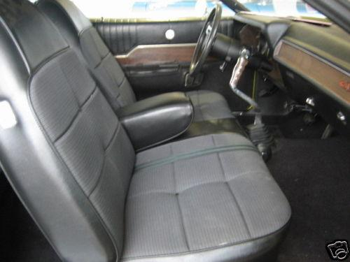 1971 PLYMOUTH GTX 2 DOOR COUPE - Interior - 117254