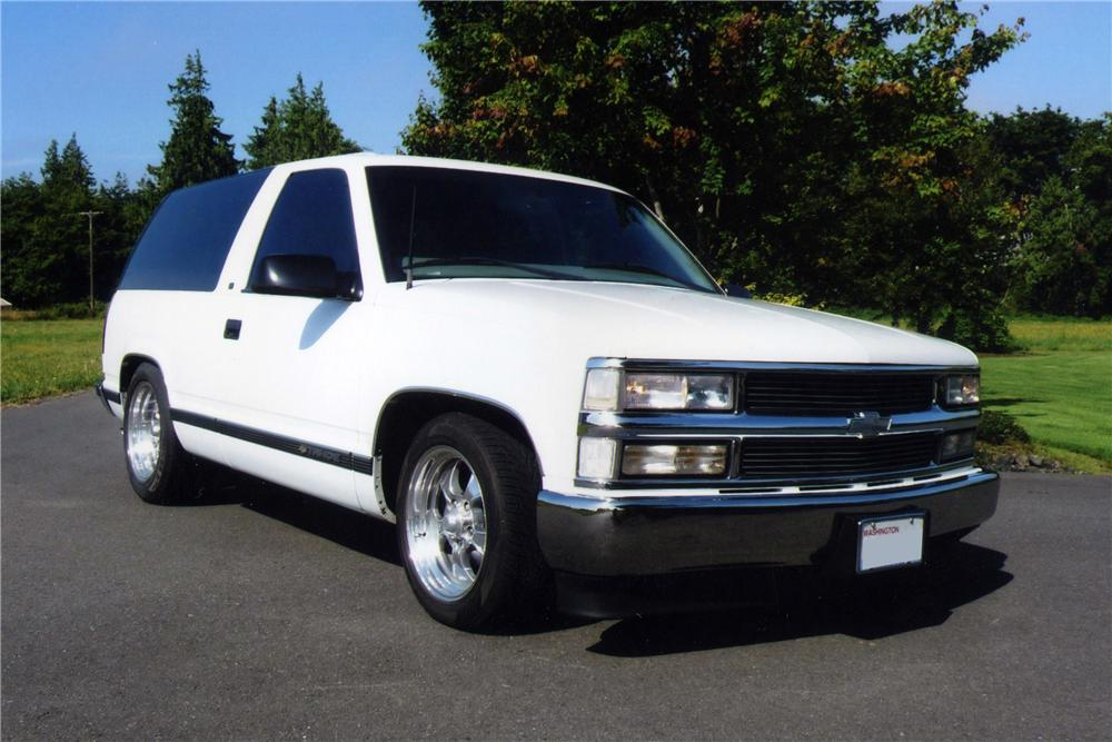 Two Door Tahoe >> 1999 CHEVROLET TAHOE LT 2 DOOR - 117256