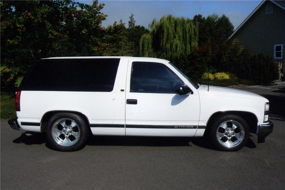 1999 Chevrolet Tahoe Lt 2 Door