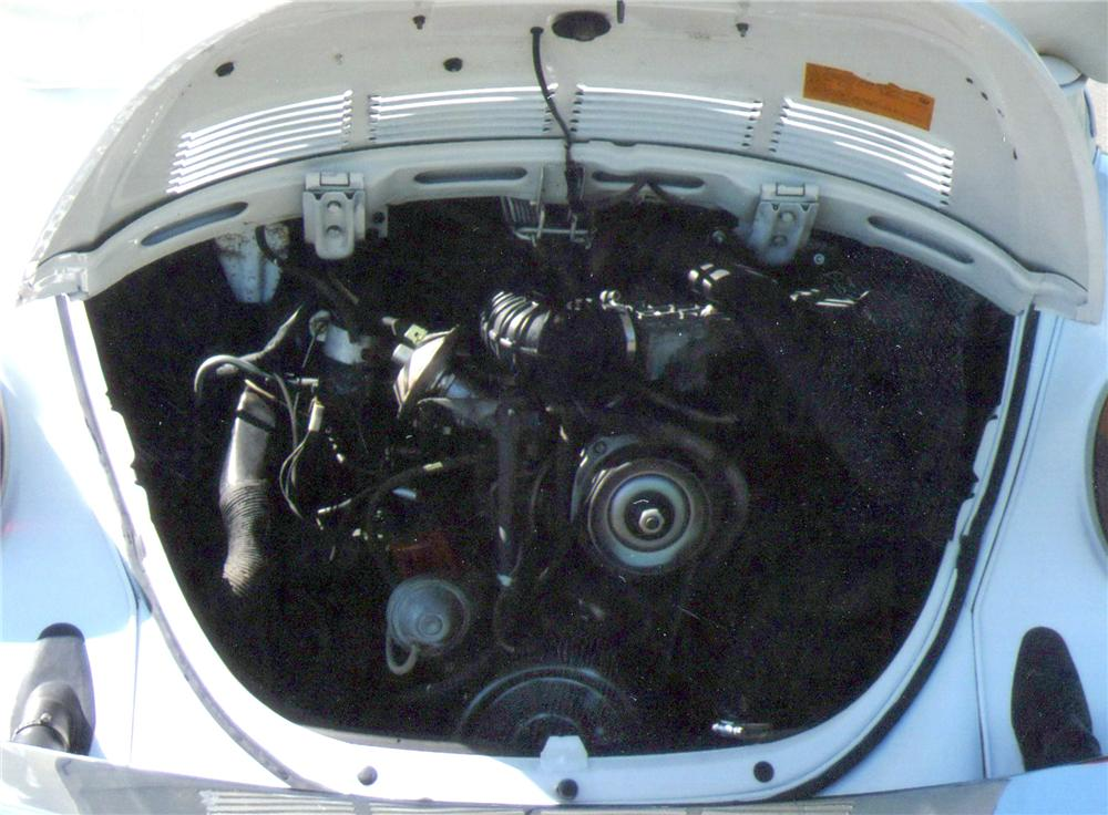 1979 VOLKSWAGEN BEETLE CONVERTIBLE - Engine - 117257
