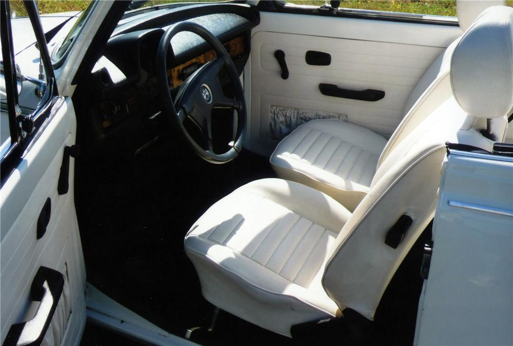 1979 VOLKSWAGEN BEETLE CONVERTIBLE - Interior - 117257