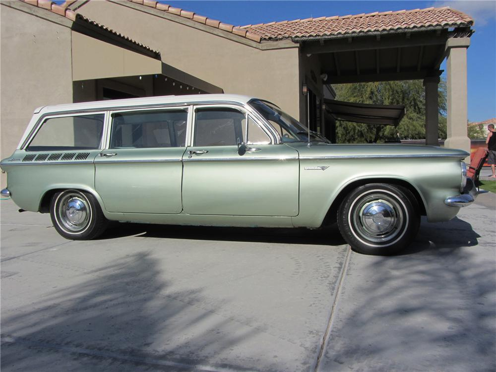 1961 CHEVROLET CORVAIR STATION WAGON - Front 3/4 - 117259