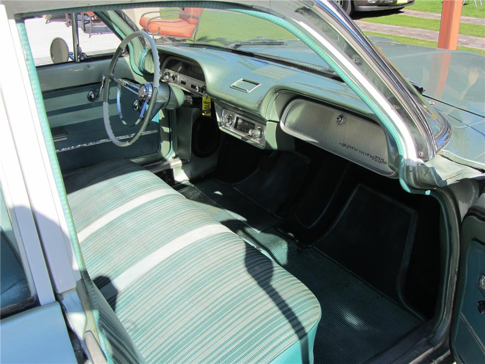 1961 CHEVROLET CORVAIR STATION WAGON - Interior - 117259