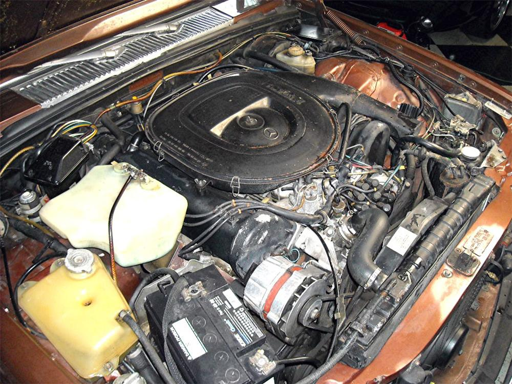 1979 MERCEDES-BENZ 450SEL SEDAN - Engine - 117260