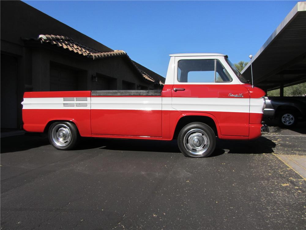 1961 CHEVROLET CORVAIR PICKUP - Side Profile - 117264