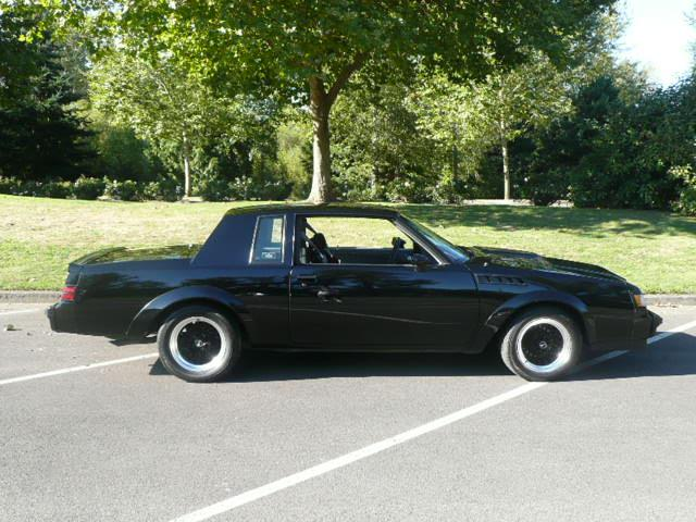 1987 BUICK GNX 2 DOOR HARDTOP - Side Profile - 117269