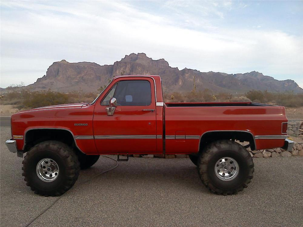 1984 Chevrolet K10 Custom Pickup 117275