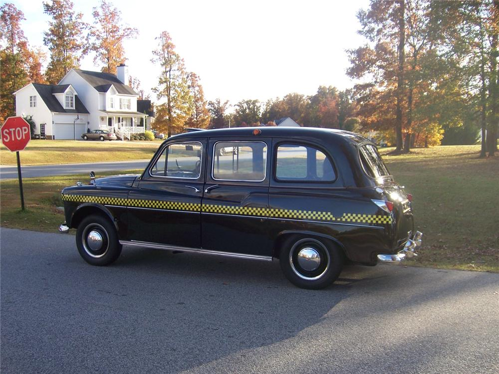 1964 AUSTIN TAXICAB - Side Profile - 117278