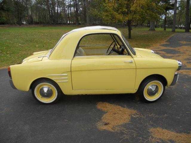 1959 AUTOBIANCHI TRANSFORMABLE 2 DOOR - Front 3/4 - 117280