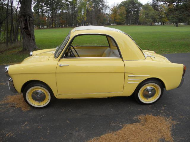 1959 AUTOBIANCHI TRANSFORMABLE 2 DOOR - Side Profile - 117280