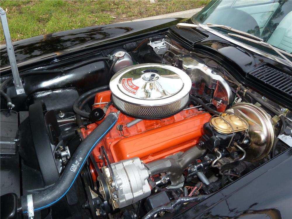 1967 CHEVROLET CORVETTE CONVERTIBLE - Engine - 117281