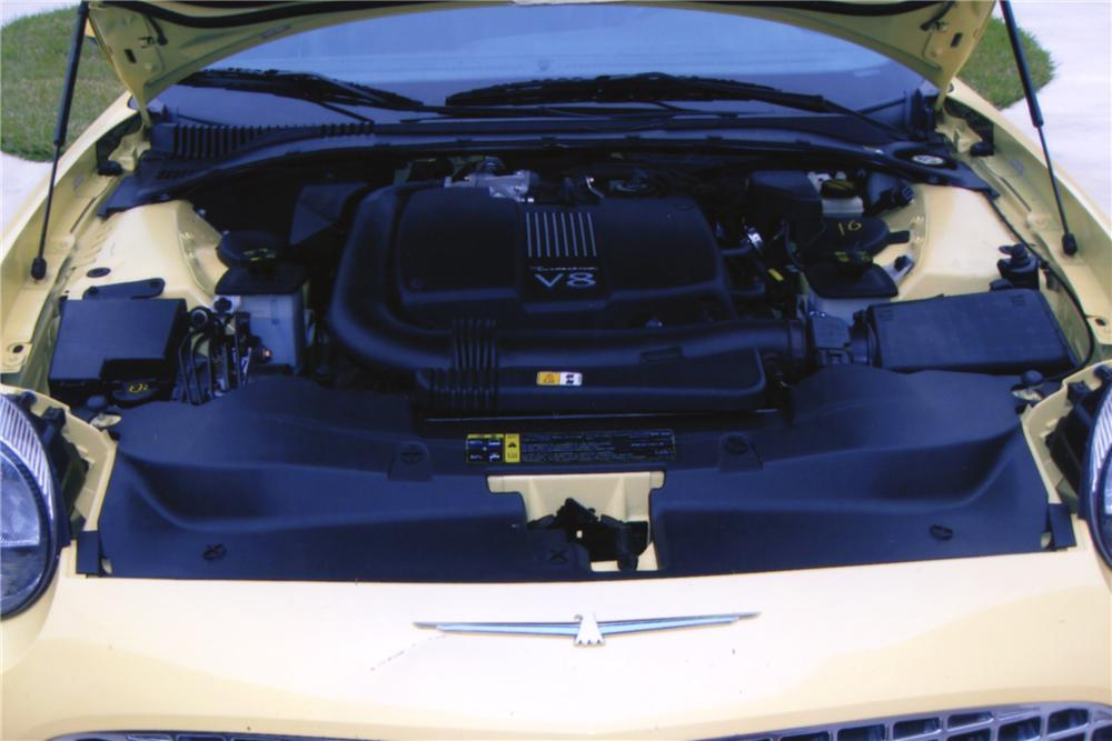 2002 FORD THUNDERBIRD CONVERTIBLE - Engine - 117292