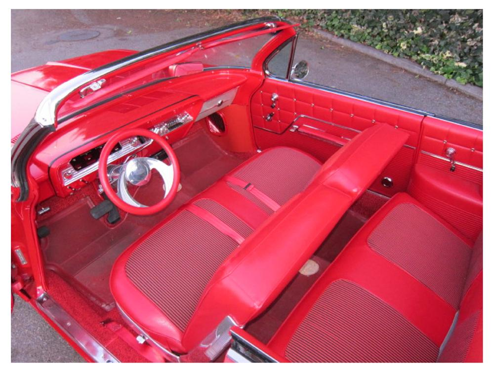 1962 CHEVROLET IMPALA CUSTOM CONVERTIBLE - Interior - 117307