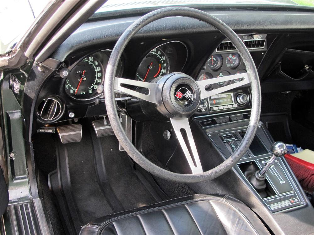 1969 CHEVROLET CORVETTE 2 DOOR COUPE - Interior - 117309