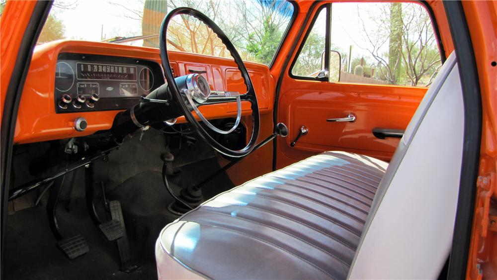 1964 CHEVROLET 1/2 TON 4X4 PICKUP - Interior - 117313