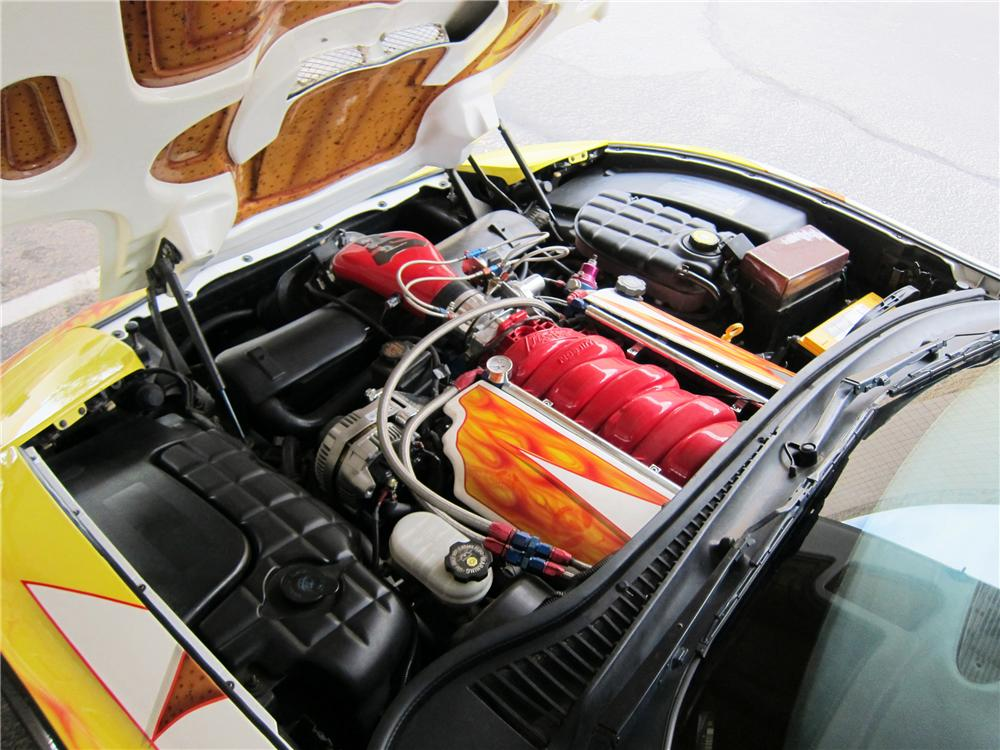 1998 CHEVROLET CORVETTE CONVERTIBLE - Engine - 117316