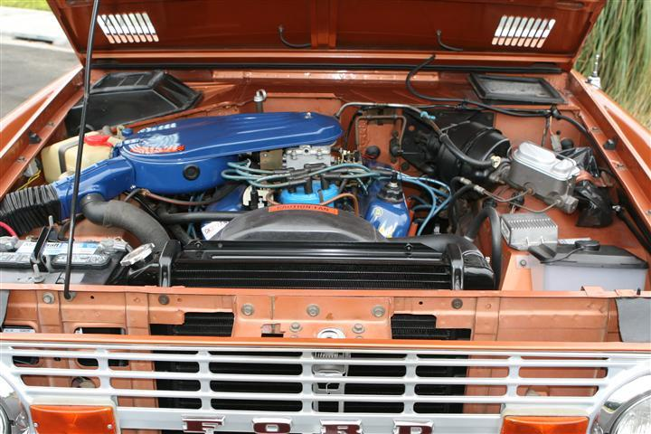 1977 FORD BRONCO SUV - Engine - 117320