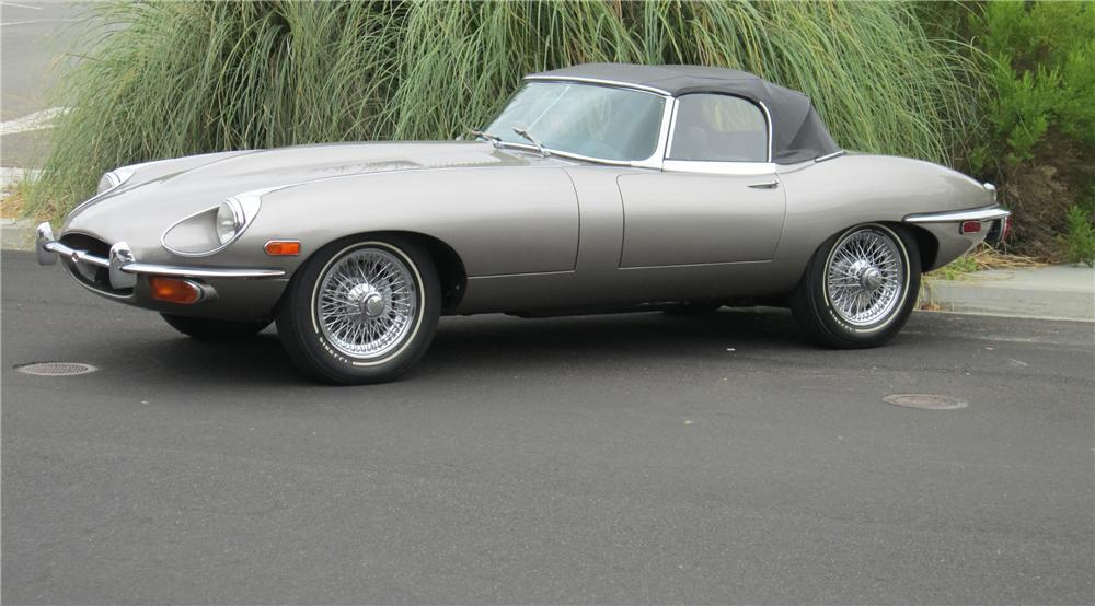 1969 JAGUAR XKE ROADSTER - Side Profile - 117325