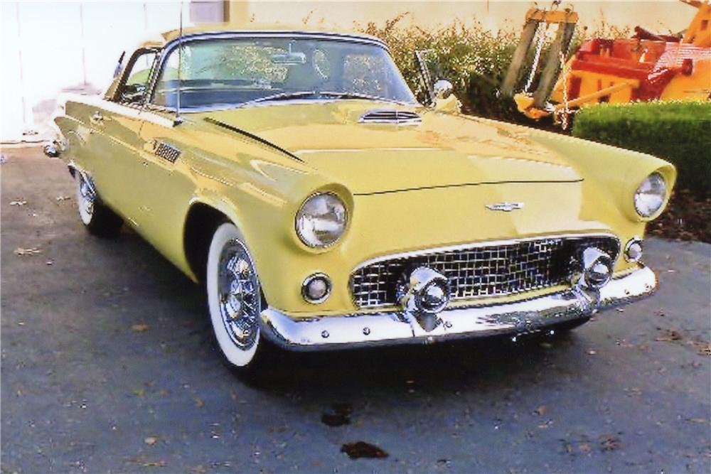 1956 FORD THUNDERBIRD CONVERTIBLE - Front 3/4 - 117326