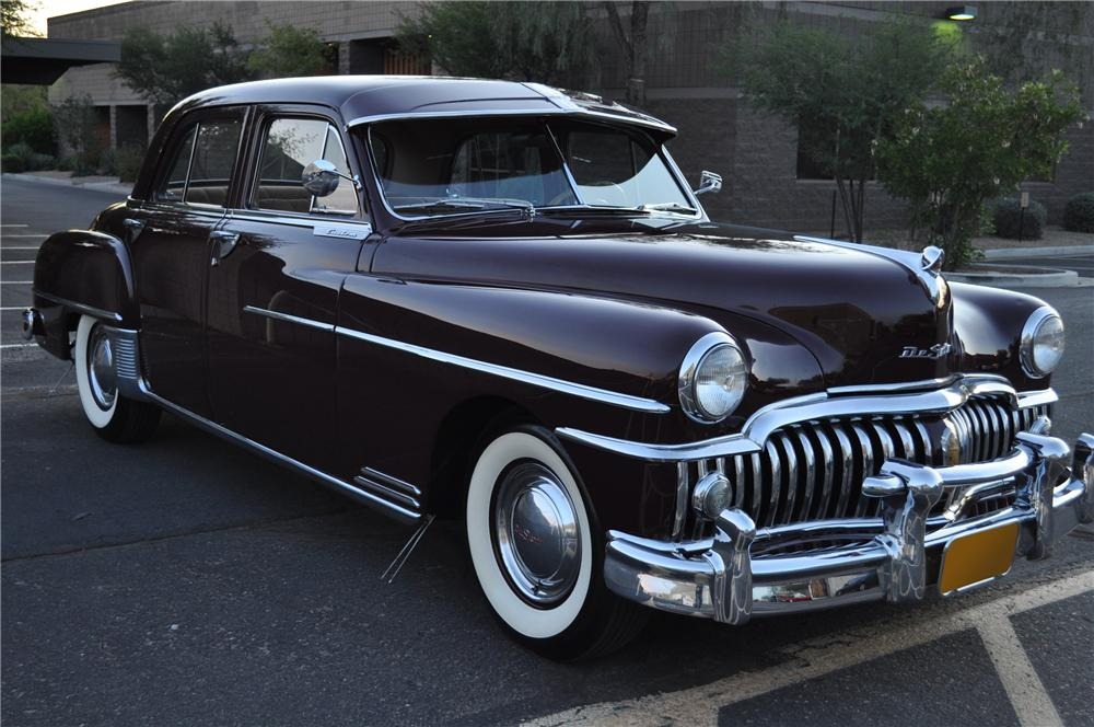 1950 DESOTO CUSTOM SEDAN - Side Profile - 117328