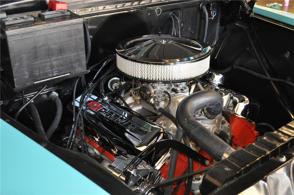 1955 CHEVROLET CAMEO CUSTOM PICKUP - Engine - 117330