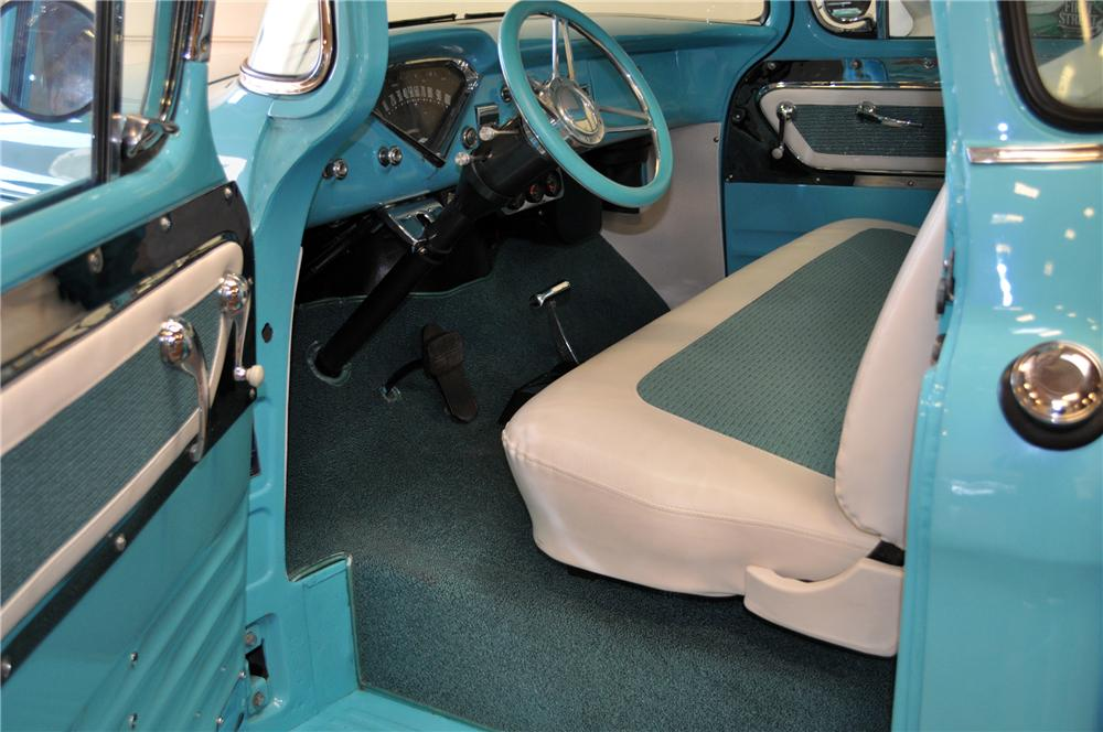 1955 CHEVROLET CAMEO CUSTOM PICKUP - Interior - 117330