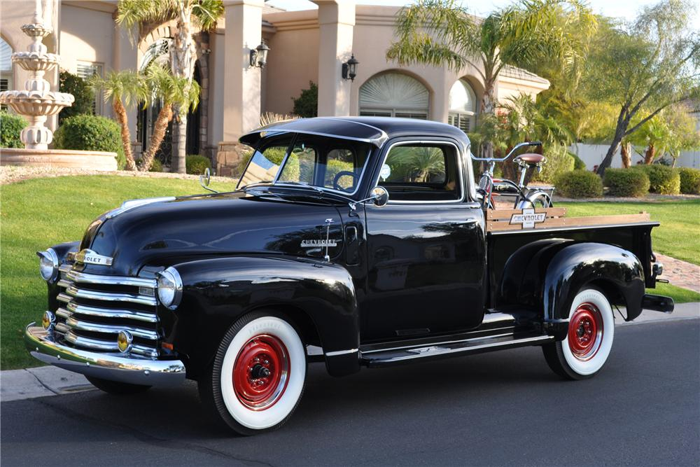 1948 CHEVROLET PICKUP - Front 3/4 - 117331